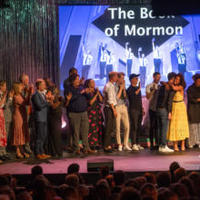 """The Book of Mormon""s ensemble"